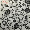 Servetter svarta mönster - Girlang