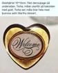 Dekorationshjärta - Glas
