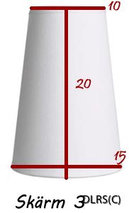 Rundhög lampskärm 3