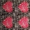 Blank - Mönstervinyl - mönstervinyl Röd svart