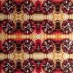Blank - Mönstervinyl - mönstervinyl batik svart röd gul