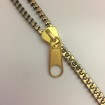 Zippband - Dragkedja - Antik Guld  Gulddrag Zipparmband