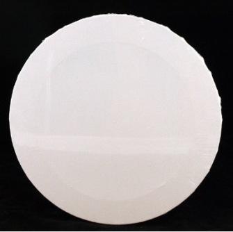 Canvas - rund - oval - hjärta - Rund Canvas tunn 40cm ca 1,7 cm djup