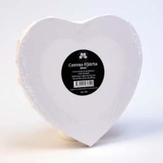 Canvas - rund - oval - hjärta - Canvas hjärna tunn 30m ca 1,7 cm djup