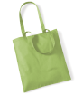 Textilpåse - Tygkasse - Lime/kiwi