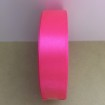 Satinband 20mm - Neonrosa 20mm, ensidigt satinband