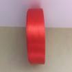 Satinband 20mm - Röd 20mm, ensidigt satinband