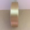 Satinband 20mm - guld 20mm, ensidigt satinband