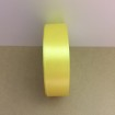 Satinband 20mm - solgul 20mm, ensidigt satinband