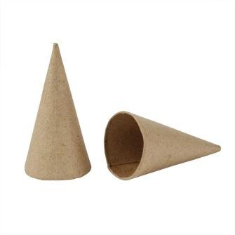 Pappstrutar - Pappstrutar 10 cm hög o 5 cm i diameter 10 st