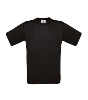 T-shirt Exact B&C - Herr - XS Svart