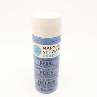 Pearl Martha Stewart - Gazing bal, blå