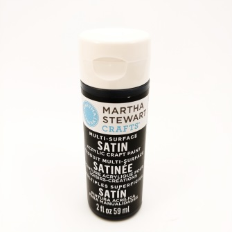 Satin - Martha Stewart - satin Beatle svart 177 ml