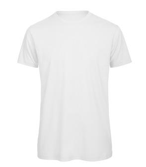 T-shirt Men's 100% Organic Cotton Tee - S Vit Rundhalsad T-shirt för herr i 100% ekologisk bomull