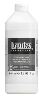 Akrylmedium Liquitex Effekt Pouring medium - Pouring medium 1 liter