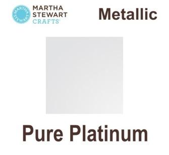 Metalic Martha Stewart - Pure platinum