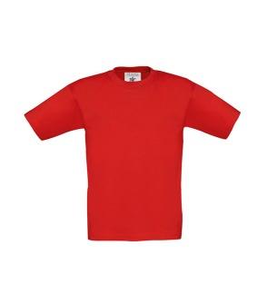 Barn t-shirt Röd