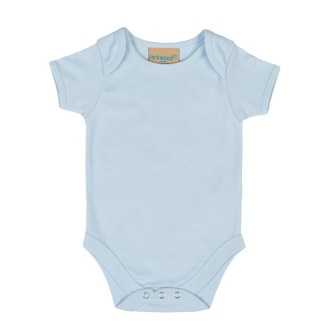 Baby body - Ljusblå