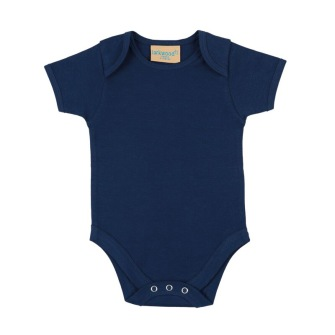 Baby body - Marinblå