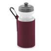 Vattenflaska och textilhållare - Burgundy