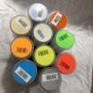 Utförsäljning -hobby spray  10 pack - 10x150ml mixade färger ghiant  paket 7