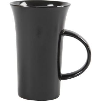 Stor hög Kaffemugg - blank