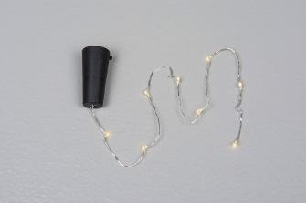 Ljusslinga - Flaska - 1st Kraftfull slinga för inomhusbruk med svart kork
