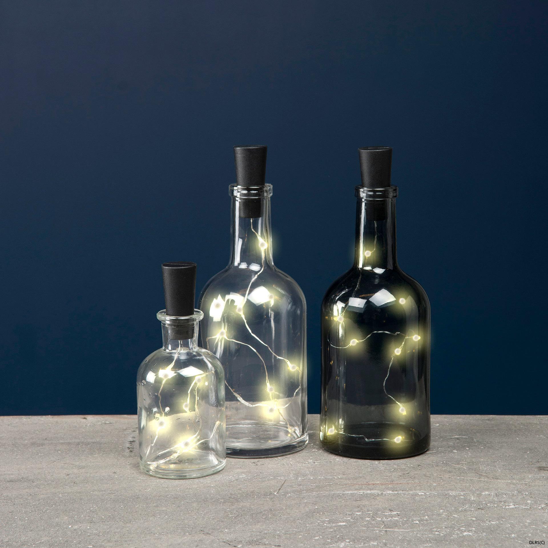 Ljusslinga för flaskor