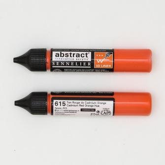 3D liner - Cadmium Röd orange - Cadmium Röd orange 28ml