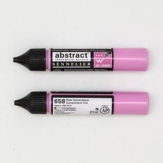 3D liner - Quinacridone rosa - Quinacridone rosa  28ml