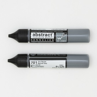 3D liner - Neutralgrå - Neutralgrå  28ml