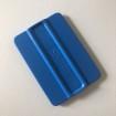 Skrapa - Applicering 4 varianter - Skrapa hård av mjukplast - Blå