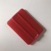 Skrapa - Applicering 4 varianter - Skrapa mjuk av mjukplast - Röd