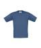 Barn t-shirt Denim/Gråblå