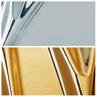 2100 Mirror - Guld o Silver