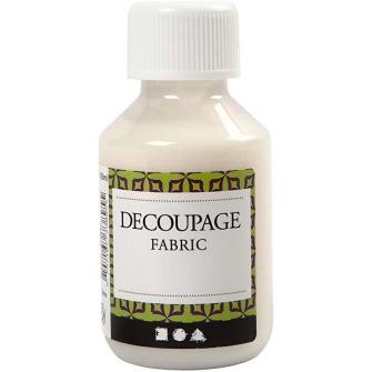 Decoupagelack - Textil