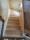 L-trappa, tät med hårdvaxoljad furu