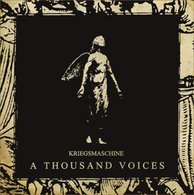 KRIEGSMASCHINE - 'A THOUSAND VOICES' mCD - CD jewel case