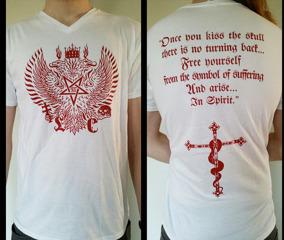 LVXCAELIS - Tshirt 2014 (WHITE)
