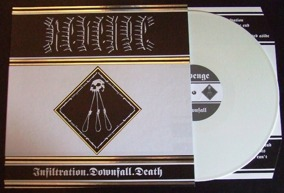 REVENGE - Infiltration.Downfall.Death (Re-issue) - Casewrapped LP -