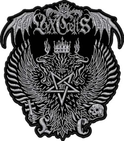 LVXCAELIS - Embroidered backpatch 2015 -