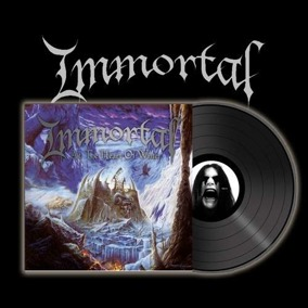 IMMORTAL -  At The Heart Of Winter (Re-issue) Gatefold LP -