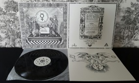 SAPIENTIA - Circulata Mercurius LP - Regular edition: Black vinyl