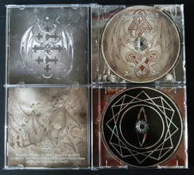 HETROERTZEN - Exaltation of Wisdom + Ain Soph Aur CD bundle - Hetroertzen CD Bundle