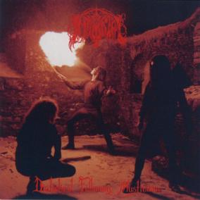 IMMORTAL - Diabolical Fullmoon Mysticism (Re-print) Gatefold LP - 12