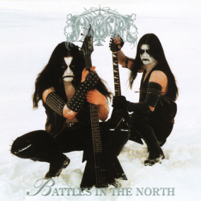 IMMORTAL - Battles In The North (Re-print) Gatefold LP - 12