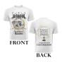 HETROERTZEN - Transfigurative Emmanation white t-shirt - XXL