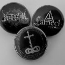 HETROERTZEN & LAMECH RECORDS - 3 pack badges