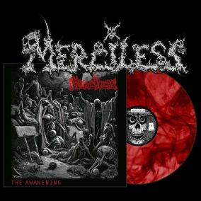MERCILESS - The Awakening (Re-print) - Ltd LP - 12
