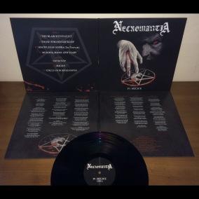 NECROMANTIA - Malice (Re-issue) - Ltd Gatefold LP - black 12
